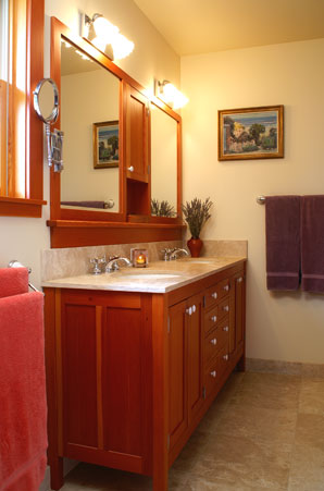 Bathroom on Craftsman Bathroom